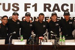 Lotus F1 driver Announcement press conference