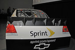 Example of spoiler being evaluated for Sprint Cup cars