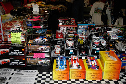 Really small cars.  Diecasts abounded on the memorabilia side of the hall.