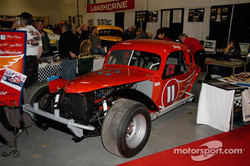 Jack Tant and Clayton Mitchell's 1936 Chevy Coupe, driven by