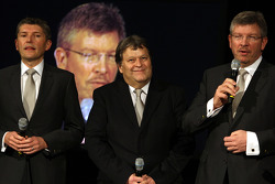 Nick Fry, Norbert Haug and Ross Brawn