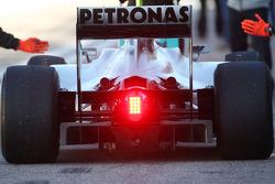 Nico Rosberg, Mercedes GP, W01, detail