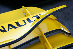 Renault R30 front wing detail