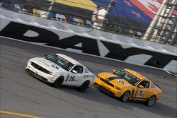 #29 Racers Edge Motorsports Mustang Boss 302R: Jade Buford, David Empringham, #15 Multimatic Motorsports Mustang Boss 302R: Joe Foster, Scott Maxwell