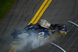 Kurt Busch, Penske Racing Dodge spins off the track