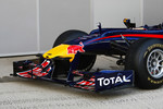 The new Red Bull RB6, front wing nose cone