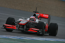 Jenson Button, McLaren Mercedes, MP4-25