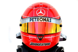 Michael Schumacher, Mercedes GP Petronas helmet