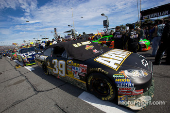 Car of Ryan Newman, Stewart-Haas Racing Chevrolet