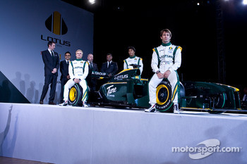 all Senior members of F1 Team lotus