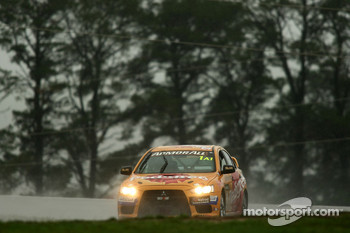 #1 TMR Australia, Mitsubishi Evo X RS: Rod Salmon, Damien White, Ian Tulloch