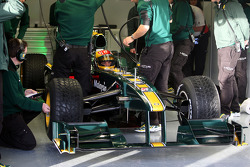 Fairuz Fauzy, Test Driver, Lotus F1 Team, T127