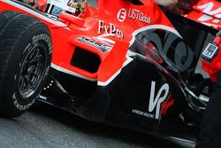 Timo Glock, Virgin Racing VR-01, detail