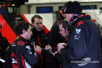 Timo Glock, Virgin Racing, John Booth, Virgin Racing Sporting Director
