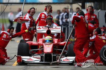 Felipe Massa, Scuderia Ferrari practice pitstops