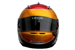 Fairuz Fauzy, Test Driver, Lotus F1 Team helmet