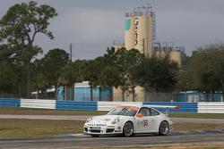 #65 Kelly Moss Racing Porsche 911 GT3 Cup: Rob Walton