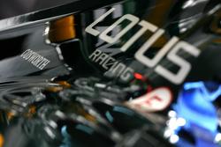 Cosworth logo in Lotus F1 Team engine cover