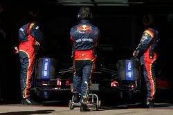Scuderia Toro Rosso atmosphere