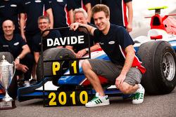 Davide Valsecchi celebrates winning the Championship with his team