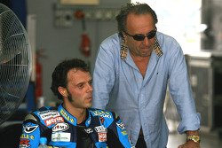 Carlo Pernat and Loris Capirossi