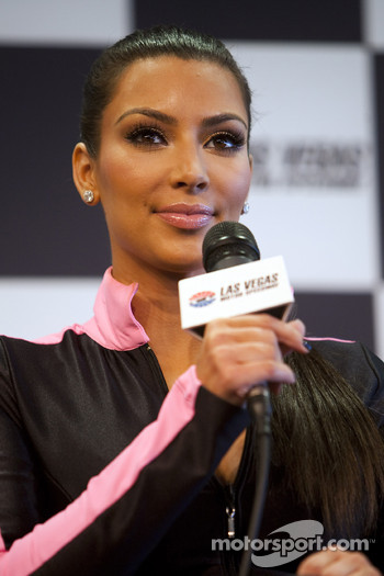 Kim Kardashian makes a press interview