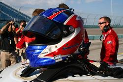 Helmet of Shane Lewis