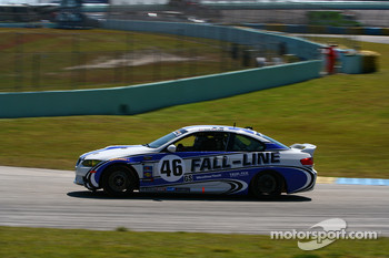 #46 Fall-Line Motorsports BMW M3 Coupe: Eric Curran, Andy Pilgrim