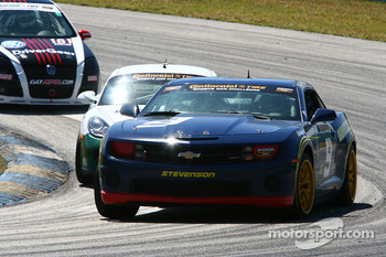 #9 Stevenson Motorsports Camaro GS.R: Al Carter, Hugh Plumb