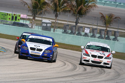 #80 BimmerWorld/GearWrench BMW 328i: James Clay, David White; #18 RRT Racing BMW 328i: Barry Battle, Michael Dayton