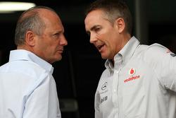 Ron Dennis, McLaren, Chairman, Martin Whitmarsh, McLaren, Chief Executive Officer