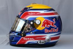 Helmet of Mark Webber, Red Bull Racing