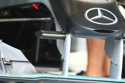 Mercedes nose cone