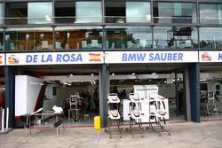 Sauber Garage