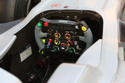 The steering wheel of Michael Schumacher, Mercedes GP