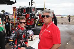 Marco Andretti, Andretti Autosport and Mario Andretti