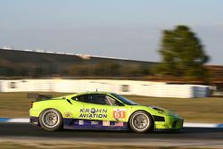 #61 Risi Competizione Ferrari F430 GT: Tracy Krohn, Nic Jonsson, Eric van de Poele