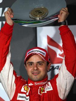Podium: third place Felipe Massa, Scuderia Ferrari