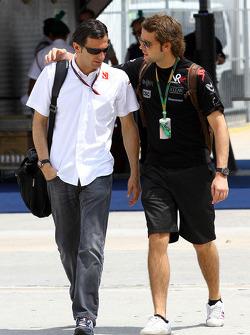 Pedro de la Rosa, BMW Sauber F1 Team, Andy Soucek