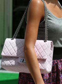 The bag of Raquel Rosario Wife of Fernando Alonso