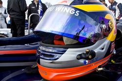 Helmet of Jean-Eric Vergne