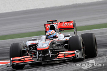 Jenson Button, McLaren-Mercedes
