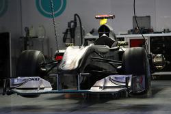 The car of Michael Schumacher, Mercedes GP
