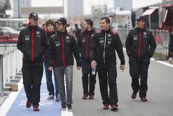 Nick Wirth, Technical Director, Virgin Racing, Lucas di Grassi, Virgin Racing