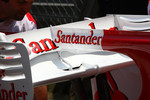 Ferrari test the F-duct system with their rear wing