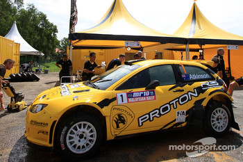 Proton Satria Neo S2000 of Chris Atkinson