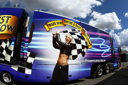 V8 Supercar transporter