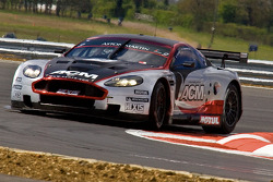 #9 Hexis AMR Aston Martin DB9: Frédéric Makowiecki, Thomas Accary