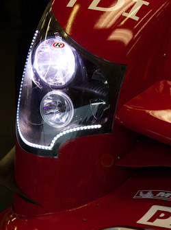 Audi Sport Team Joest Audi R15 TDI headlight detail