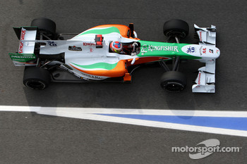 Paul di Resta, Test Driver, Force India F1 Team, VJM03